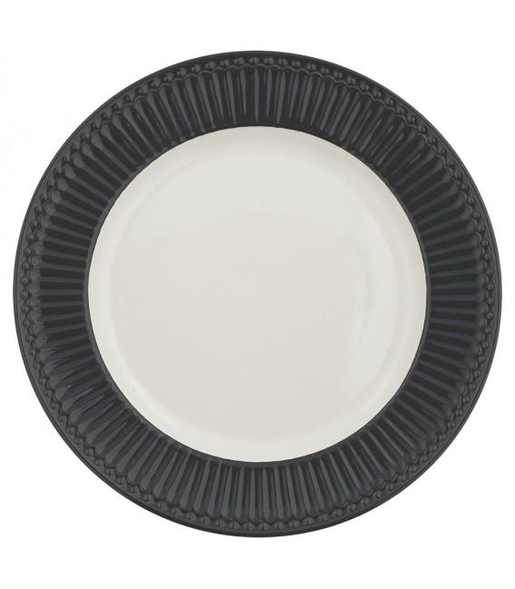 Middagstallerken - Alice Dark Grey