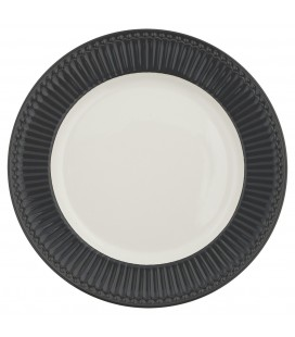 Middagstallerken - Alice Dark Grey - Dinner Plate