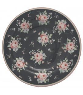 Lille Tallerken - Marley Dark Grey - Small Plate