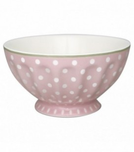 Skål - Spot pale pink - French bowl (Str. XL)