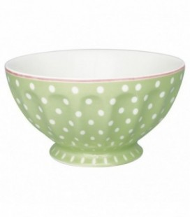 skål - Spot pale green - French bowl (XL)