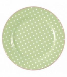 Tallerken Spot pale green - Plate