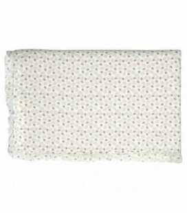 Quilt - Lily petit white - Bed cover w/frill (180x230 cm)