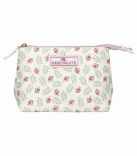 Kosmetik taske - Lily petit white - Cosmetic bag small