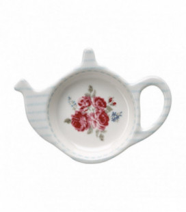 Tepose holder - Elisabeth white - Teabag holder