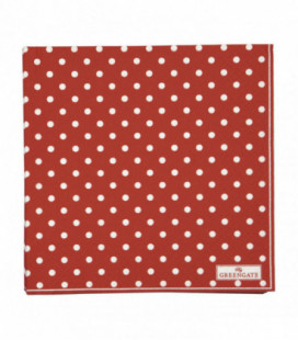 Servietter - Spot red large 20pcs - Napkin
