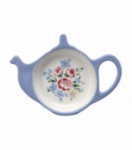 Tepose holder - Nicoline dusty blue - Teabag holder