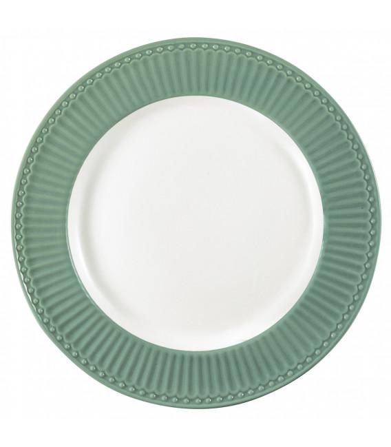 Tallerken - Alice dusty green - Plate
