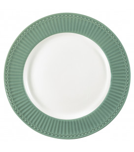 Tallerken - Alice dusty green - Plate