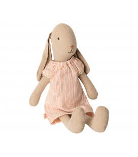 Kanin mini str. 1 Natkjole - Rabbit size 1 Nightgown