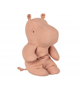 Lille flodhest - Safari friends small hippo dusty rose
