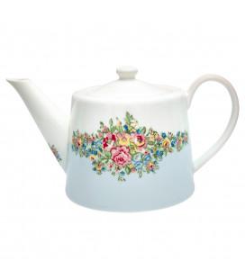 Teapot Franka pale blue
