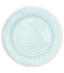 Plate Helle pale blue