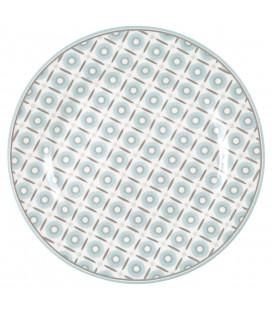 Plate Alva white