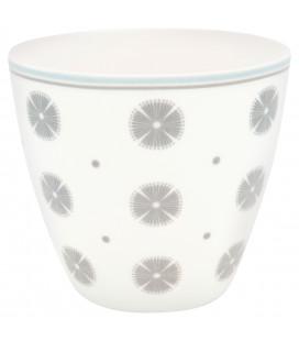 Latte cup Saga white