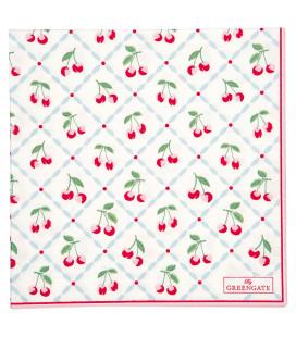 Servietter - Cherie White - Napkin large (20pcs)