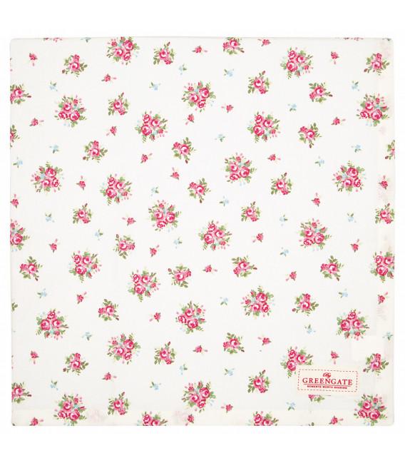 Dug - Abigail white 150x150cm - Tablecloth