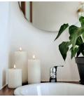 Bloklys - Ivory - Pillar Candle (8x20 cm)