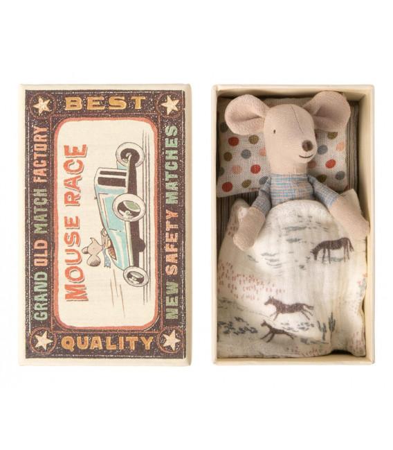 Lillebror mus i æske