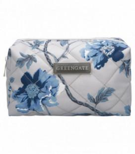 Toilettaske - Charlotte grey - Wash bag (Small)