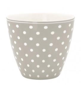 Lattekop - Spot grey - Latte cup