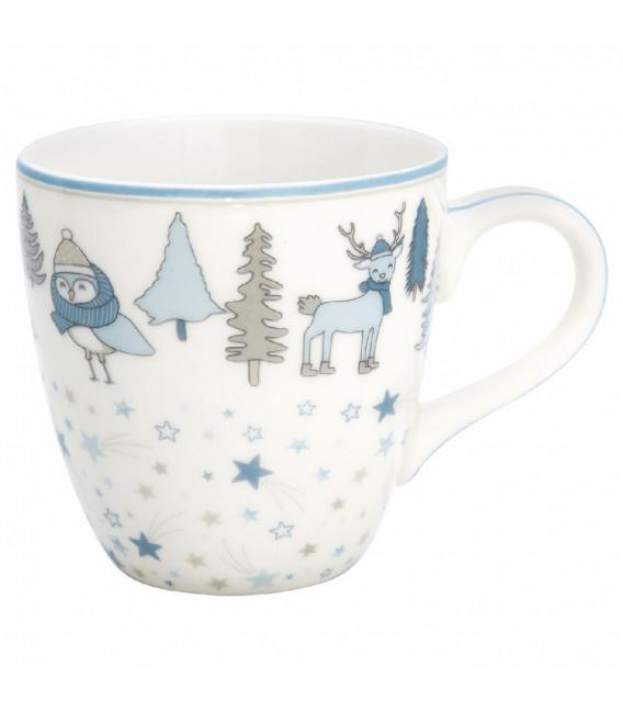 Børnekop - Forrest pale blue - Kids mug