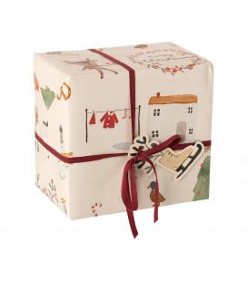Gavepapir - Cosy Christmas - Giftwrap (10m)