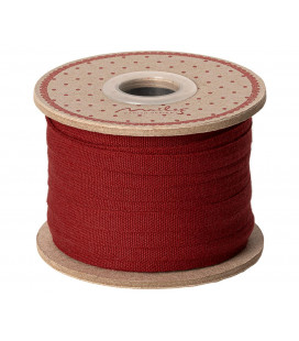 Bånd Rød 25m - Ribbon red