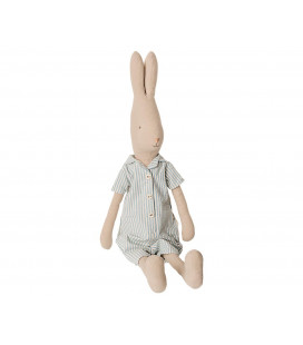 Kanin m. pyjamas sæt - Str. 4