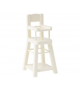 Højstol - High Chair, White (Str. Micro)