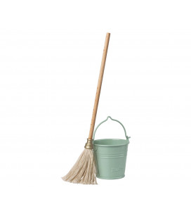 Spand og moppe - Bucket and Mop