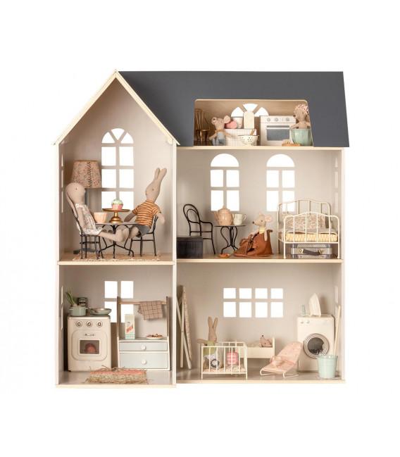 Dukkehus - House of miniature - Dollhouse