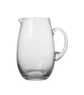 Broste - Drikkeglas, Hammered Clear