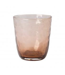 Broste - Drikkeglas, Hammered Brown