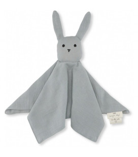 Nusseklud Sleepy Rabbit, French Blue