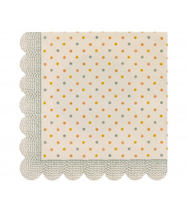 Maileg - Servietter, Multi Dots