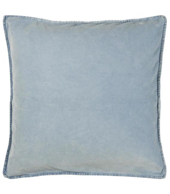 Ib Laursen - pudebetræk i velour, lyseblå
