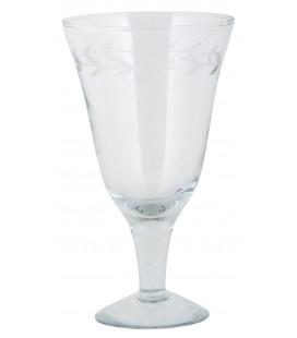 Ib Laursen - Rødvinsglas M. Bladranke