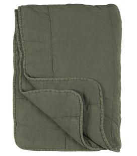 Quilt, Støvet Grøn (130x180)