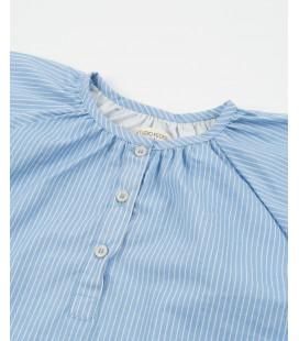 Studio Feder - Natkjole, Shirt Stripe
