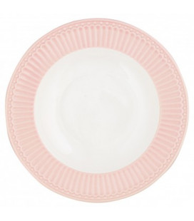 GreenGate - Dyb Tallerken, Alice Pale Pink