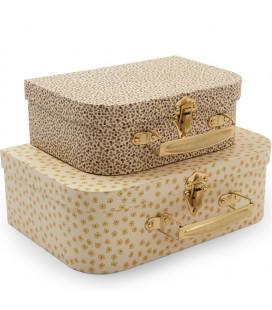 Kuffertsæt, Buttercup Yellow/Rosarie (Sæt á 2)