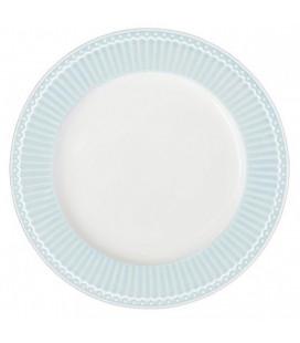 Middagstallerken, Alice Pale Blue
