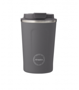 Termokop 380 ml, Dark Grey