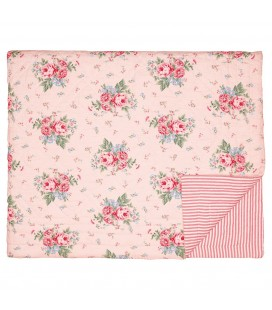 Bed cover Marley pale pink 100x140cm
